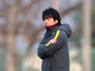 Team Manager Hori – pre-match press conference the day before the match against Gamba Osaka