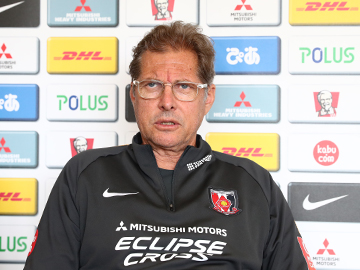 Team Manager Oswaldo Oliveira – pre-match press conference the day before the match against Shonan Bellmare