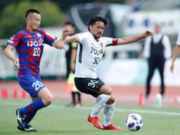 J.LEAGUE YBC Levain CUP PLAY-OFF 1st Leg vs Ventforet Kofu(Result)