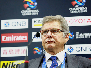 Press conference after the match against Jeonbuk Hyundai Motors Football Club