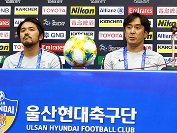 Press conference after the match against Ulsan Hyundai FC