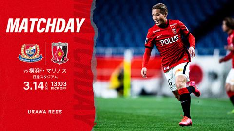 MEIJI YASUDA J1 League 4th Sec. vs Yokohama F・Marinos