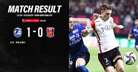 MEIJI YASUDA J1 League 22nd Sec. vs Oita Trinita(Result)