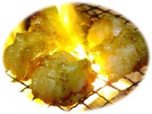 三宝苑、炭火焼ホルモン