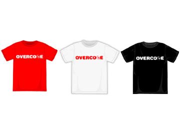 OVERCOMEチャリティTシャツにおける募金(報告)