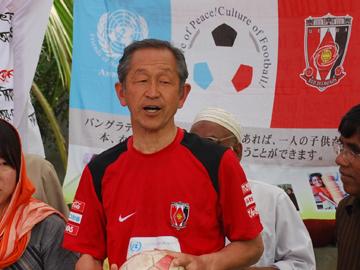 落合キャプテンが日本サッカー殿堂入り