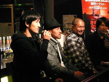 平川、坪井、堀之内がトークショーに参加