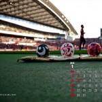 2012年1月カレンダー[1280×1024]