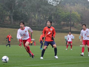 トレーニングマッチ vs愛媛FC