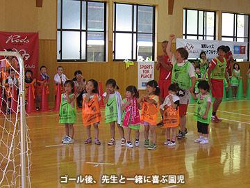 東日本大震災等支援プログラム『ハートフルサッカー in 東北』実施