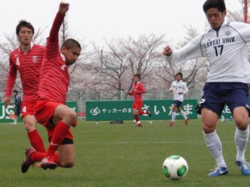 トレーニングマッチ vs関西大学