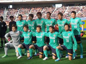 Jリーグ vsアルビレックス新潟