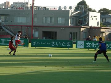 トレーニングマッチ 湘南ベルマーレ戦について