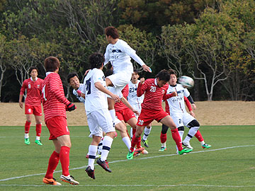 トレーニングマッチ vs鹿児島ユナイテッドFC