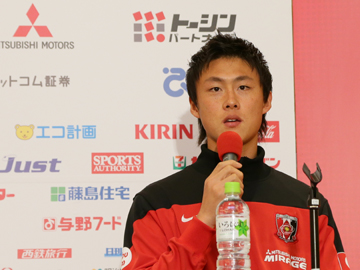 2014シーズン 李忠成選手新加入記者会見