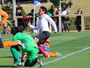 トレーニングマッチ vsV・ファーレン長崎