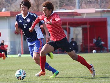 トレーニングマッチ vsアルビレックス新潟