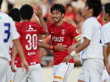 天皇杯 2回戦 vs浦安SC