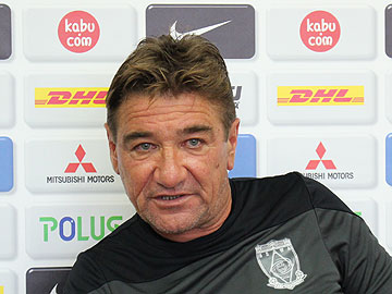 ミシャ監督「非常に厳しい試合だが、良い結果を目指して戦う」