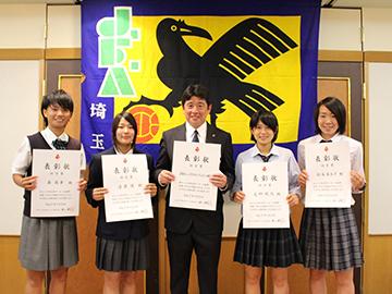 浦和レッズレディースとレッズレディースユース所属4選手が、「公益財団法人埼玉県サッカー協会 功労賞」を受賞