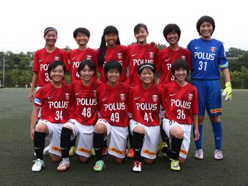 U-15なでしこアカデミーカップ2015 第6節 試合結果