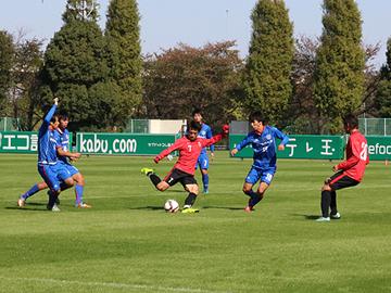 トレーニングマッチ vs東京国際大学