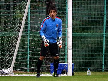 西川周作「自分たちのサッカーを貫き、粘り強く戦い勝利する」