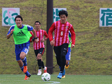 トレーニングマッチ vs蔚山現代FC
