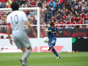 1stステージ 第3節 vs福岡 エース興梠が2ゴール、完封でリーグ戦ホーム初勝利
