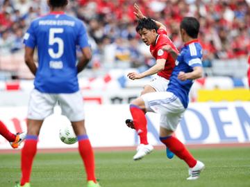 1stステージ 第6節 vs横浜FM 最後まで果敢にゴールを目指すも、敵地でスコアレスドロー