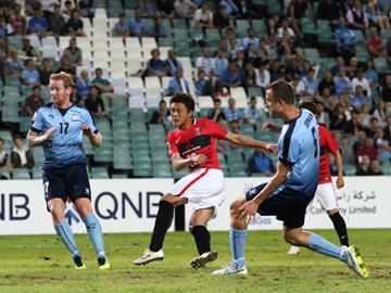 ACLグループステージMD5 vsシドニーFC アウェイで貴重な勝ち点1、ラウンド16進出を決める
