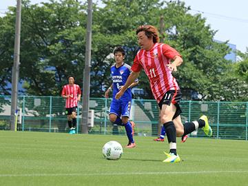 トレーニングマッチ vsジョイフル本田つくばFC