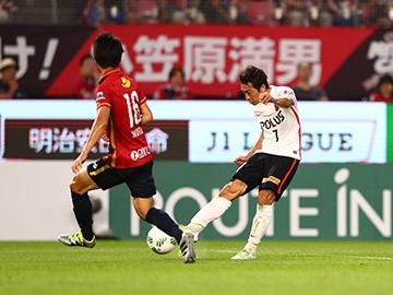 明治安田生命J1リーグ 2ndステージ第5節 vs鹿島アントラーズ 試合結果