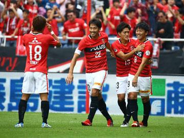 2ndステージ 第14節 vsG大阪 攻守において相手を圧倒し、4ゴールを挙げて完封勝利