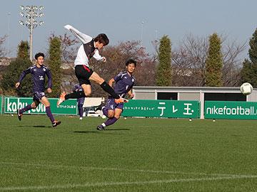トレーニングマッチ vs明治大学