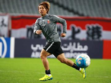駒井善成「完全アウェイの雰囲気を楽しんで、勝ち点3を浦和に持ち帰る」