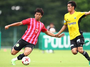 トレーニングマッチ vs松本山雅FC