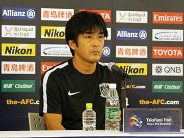 川崎フロンターレ戦 試合前日公式会見に堀監督と遠藤が出席