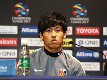 上海上港戦 試合前日公式会見に堀監督と遠藤が出席