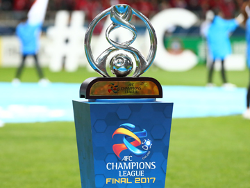 AFCチャンピオンズリーグ2017優勝トロフィー(レプリカ)一般公開のお知らせ