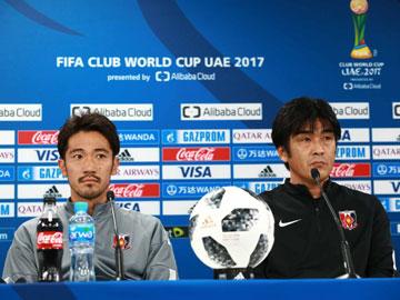 アルジャジーラ戦 試合前日公式会見に堀監督と阿部が出席