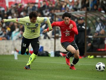 トレーニングマッチ vsガンバ大阪