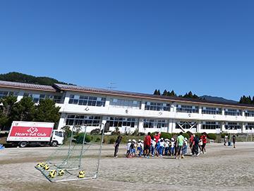 岩手県山田町民総合運動公園人工芝改修完成記念式典への出席について