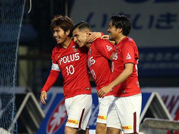 第12節 vs川崎「興梠の2ゴールでオリヴェイラ監督体制初勝利」
