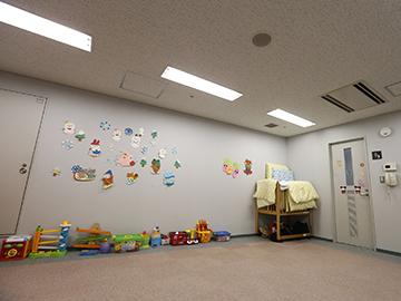 ホームゲーム託児室受付中!