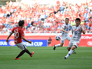 ルヴァンカップ vs甲府「興梠が2点を決めるも2戦合計で敗退」