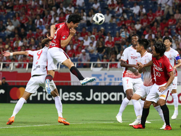 明治安田生命J1リーグ 第16節 vs名古屋グランパス 試合結果