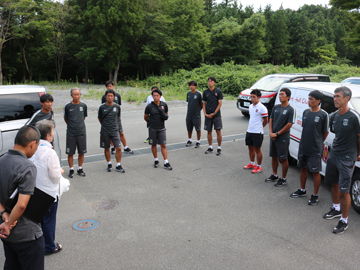 Jヴィレッジ再始動後、Jリーグクラブ初のサッカー教室をハートフルクラブが実施