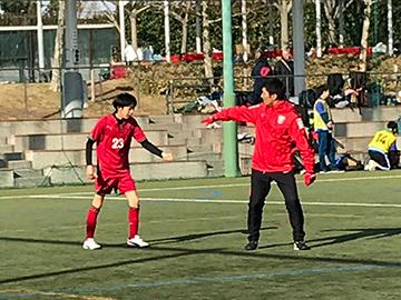 『第21回交流サッカーフェスティバル』に、レディースチームの乗松、松本、柳田コーチ、ハートフルクラブコーチが参加