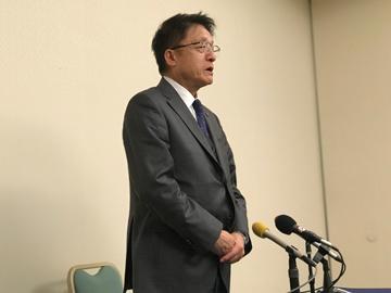 1/31 淵田敬三代表 退任会見